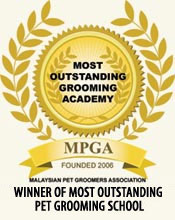 Winner Of Most Outstanding Pet Grooming School