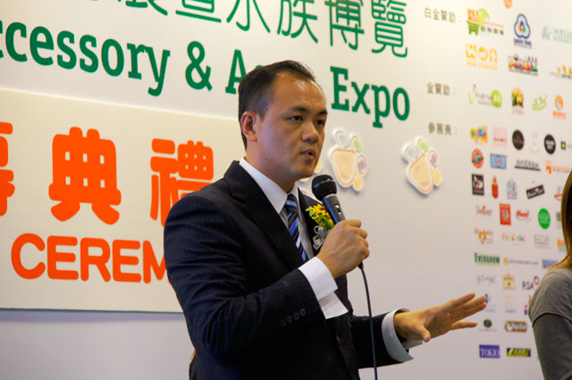 Mr Gan was invited to give seminars at Hong Kong  5th International Pet & Aqua Expo 2010