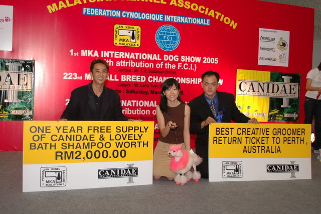Ms Annie Best Creative Groomer @ MKA International Dog Show 05