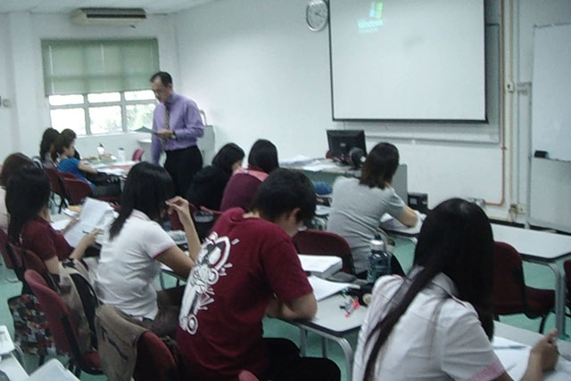 Mr. Gan Wee Yet invited to conduct class at University Malaya Faculty of Medicine