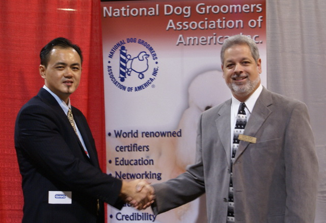 Mr.Gan with NDGAA Executive Director, Mr. Jeffrey Reynolds