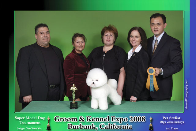 Principal, Mr. Gan Wee Yet being the only appointed judge from South East Asia, judged at Groom & Kennel Expo, USA
