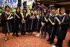 Open University Malaysia and House Of Groomers Academy Students 2009