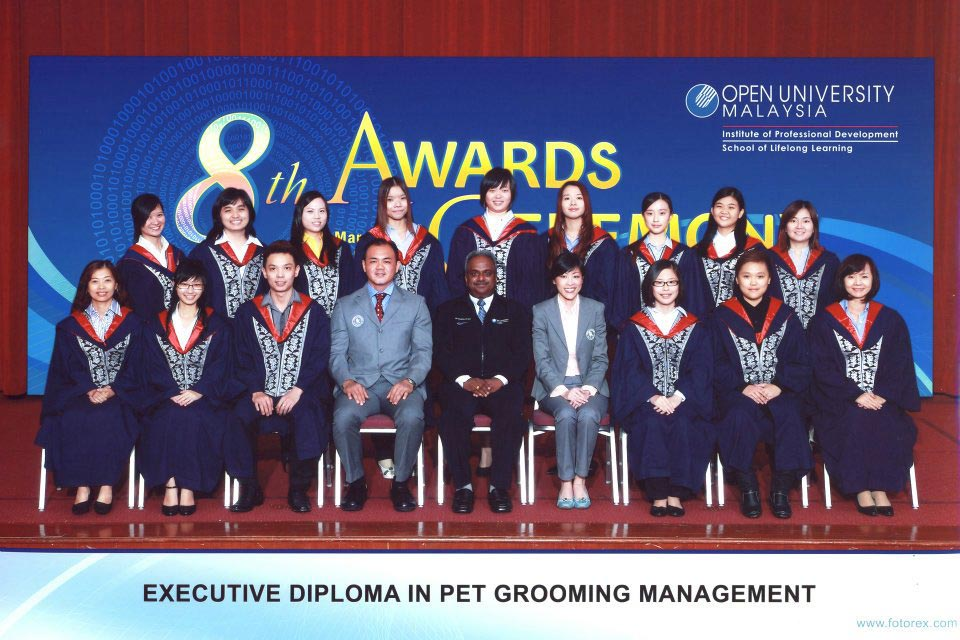 Open University Malaysia and House Of Groomers Academy Students 2012